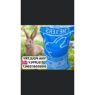 chexers rabbit pellet 1kg repacked