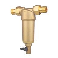 1/2  นิ้ว 3/4  นิ้ว 1  นิ้วเต็มพอร์ตทองแดงทำความสะอาดกรองครัวเรือนบ้านเครื่องกรองน้ำท่อกลางเครื่องกรองน้ำขจัดคราบตะกรัน