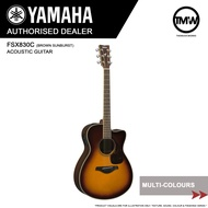 PRE-ORDER (Dec/Jan) Yamaha FSX830C Electric Acoustic Guitar - Absolute Piano - The Music Works Store GA1
