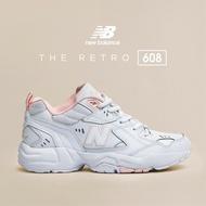 【New Balance】 608 粉 老爹鞋 復古鞋款
