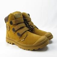 Palladium PAMPA CUFF WP LUX 防水高筒靴 75926217 男女款 棕黃【iSport愛運動】