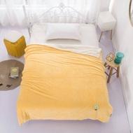 大賀屋 迪士尼 羊羔絨 被子 羔羊 羊毛被 保暖被 鋪棉 床被 米奇 米妮 維尼 史迪奇 正版 授權 T00120287-90