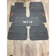 BENZ W210 乳膠汽車專用腳踏墊,橡膠汽車腳踏墊