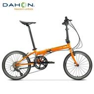 bicycle ☆DAHON Dahang SP18 folding bike 20 inch 18-speed adult men and women travel road folding bike KAC083❣