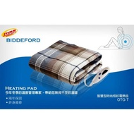 【小如的店】COSTCO好市多代購~Biddeford 智慧型安全蓋式電熱毯/電毯127x157公分(1入)