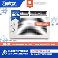 Astron Inverter Class .6 HP Aircon (window-type air conditioner-TCL60-MA) (Formerly Pensonic Aircon)