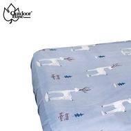 【新色上市】Outdoorbase歡樂時光原廠法蘭絨充氣床包套 (L/XL) 26268