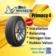 Siap Pasang Michelin Primacy 4 Tayar (195/55R16, 205/55R16, 205/60R16, 205/65R16, 215/55R16, 215/60R16, 215/65R16, 225/55R16, 225/60R16, 235/60R16)