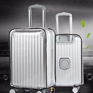 "CASSA ซองคลุมกระเป๋าเดินทาง PVC แบบใส กันน้ำ กันความร้อน กันรอยขีดข่วน ขนาด 24"" รุ่น 0035-PVC-24"