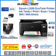 [Singapore Warranty] Epson EcoTank L3250 replacement of L3150 All-in-One Ink Tank Inkjet Colour Printer Color Printer