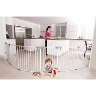 【小如的店】COSTCO好市多線上代購~Dreambaby 兒童安全圍欄 幼兒 門護欄兩用(380cm寬/74cm高)