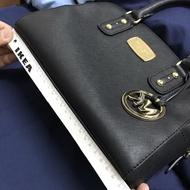 Michael Kors 黑色波士頓兩用包  KORS 波士頓包 中款 MK