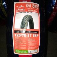 Camel tire tubeless 120*70*17