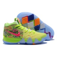 Nike_Kyrie 4 Irving 4th Generation Confetti Men's Basketball Shoes,Shock Absorption Wear Resistant Wraparound Yin-Yang shoes