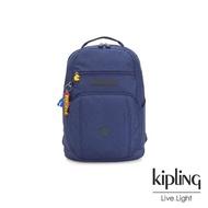 【KIPLING】PAC-MAN限量系列 雙層收納後背包-TROY