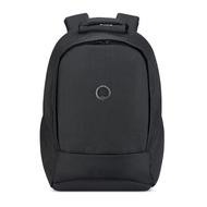 【DELSEY】SECURBAN-13.3吋筆電後背包-黑色 00333460300