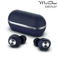 【宏華資訊廣場】德國McGee - EAR PLAY 午夜藍 藍牙5.0 真無線藍牙耳機 公司貨