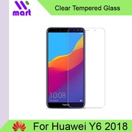 Tempered Glass Screen Protector (Clear) For Huawei Y6 2018