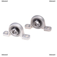 {NUV} 2Pcs 12mm Diameter Bore Ball Bearing Pillow Block Mounted Support KP001{LJ}