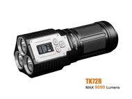 Fenix TK72R 3x CREE XHP70 LEDดิจิตอลจอแสดงผลOLEDชาร์จไฟฉายไฟฉาย