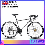 RALEIGH R9 Road Bike Shimano Variable Speed Road Bike Male and Female Double Disc Brake Adult Light Off Road Racing Car