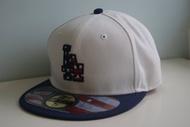 美國國慶日獨立紀念日限定版 New Era MLB Dodgers LA 洛杉磯道奇隊刺繡棒球帽全封平沿 59FIFTY