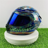 AGV Pista GP R Mexico Beaded Full Face AGV Racing Helmet Motorcycle Full Face Helmet 7 Colors of Visor To Choose From