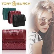 ✨Cospa Festival ★ Limited special price! TORY TORY BURCH ★ FLEMING MINI FLAP WALLET Purse Folded wallet Popular Cute Fashionable wallet