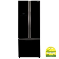 Hitachi R-WB480P2MS French Bottom Freezer 3 Door Fridge
