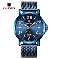 KADEMAN 9021G Original Luxury Men Watch Fashion 3TAM Classic Male Quartz Wristwatches TOP Brand
