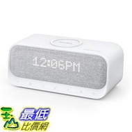 [8美國直購] 揚聲器 Soundcore Wakey Bluetooth Speakers Powered by Anker with Alarm Clock, Stereo Sound, FM Radio,