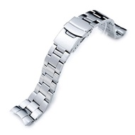 (Orient Replacement by MiLTAT) 22mm Super Oyster 316L Stainless Steel Watch Band for Orient Mako...