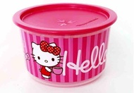 Tupperware 950ml one touch container - hello kitty