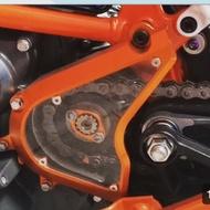 KTM Duke390 rc390改裝前齒鏈條透明保護蓋