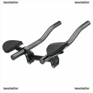 【TWE】Mountain Bicycle Alloy Triathlon Aero Rest Handle Bar