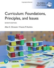 Curriculum: Foundations, Principles, and Issues, 7th edition by Allan Ornstein - ISBN 9781292162072 / 1292162074