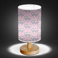Wood Base 5W LED USB Decoration Desk/Table/Bedside Lamp [ Orientals Pastel Colors ]