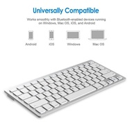 Wireless Gaming Keyboard Computer Game Universal Bluetooth Keyboard for Spanish German Russian Frenc