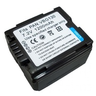 Battery Camera For Panasonic HDC-HS20  HS100  HS200  HS250  HS300  HS700 ... แบตเตอรี่สำหรับกล้อง VDO Panasonic Battery รหัส VBG130