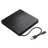 2-in-1 Type-C USB 3.0 External CD DVD Player Optical Drive CD Burner