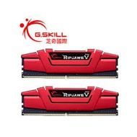 【子震科技】芝奇 G.SKILL Ripjaws V 8G單隻DDR4-3200 CL16 (紅) 絕佳極速效能