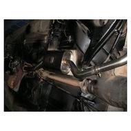 賓士W123原廠型中尾段不銹鋼排氣管外品SUS304 1.5mm厚板200,230E通用(中尾段)