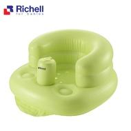 【RICHELL利其爾】充氣式多功能椅-綠色
