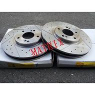 現代 MATRIX,ELANTRA 03-11 前煞車盤.前碟盤(一組2片裝)