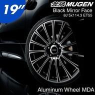 日本 MUGEN POWER 無限 Aluminum Wheel MDA 鋁圈 19吋 8J 5/114.3 ET55