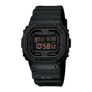 ★ALL 20% OFF★FREE SHIPPING/K-FASHION/[G-SHOCK] [Zip] Army Clock Square Rusty Black DW-5600MS-1DR/AUT