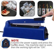 Impulse 200mm 300mm 400mm Electric Plastic Wrapping Film Sealer Packaging