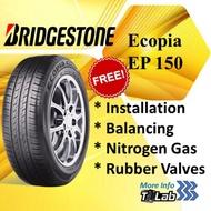 Bridgestone Ecopia EP150 (175/70R13, 175/65R14, 185/60R14, 185/70R14, 185/60R15, 195/60R15, 195/65R15, 185/65R15, 195/60R16)