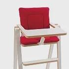 奧地利SUPAflat 兒童折疊高腳餐椅坐墊-時尚紅