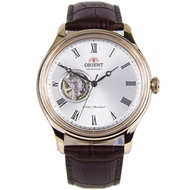 Orient Open Heart Automatic White Dial Leather Strap Gents Casual Watch FAG00002W0 AG00002W